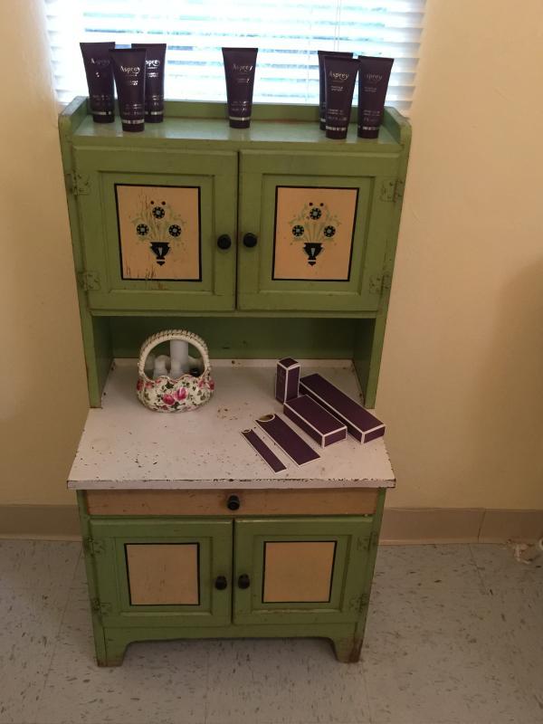 Mini Hoosier Cabinet in Bath