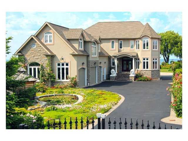 Miljoen dollar huis aan het meer