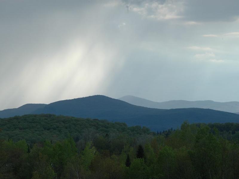 Mountain View se détacher de la montagne