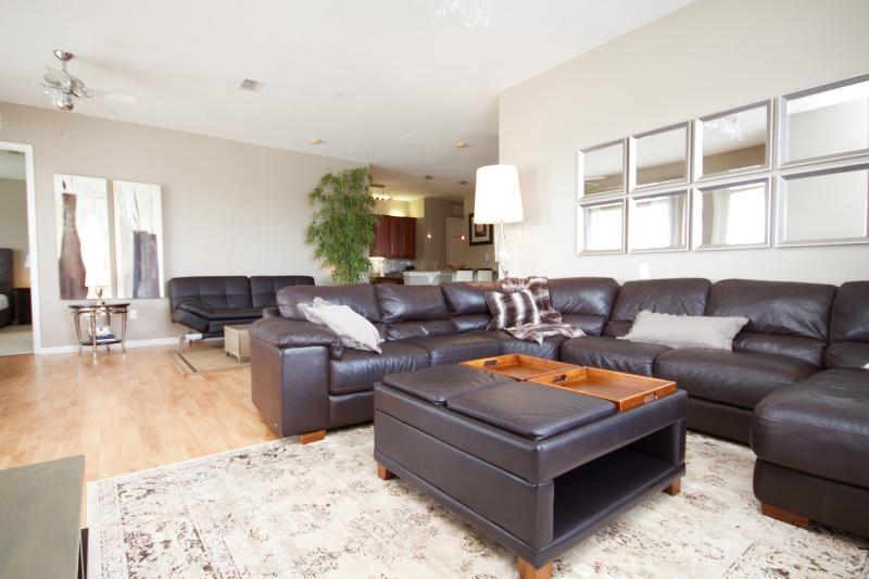 Luxurious loft space