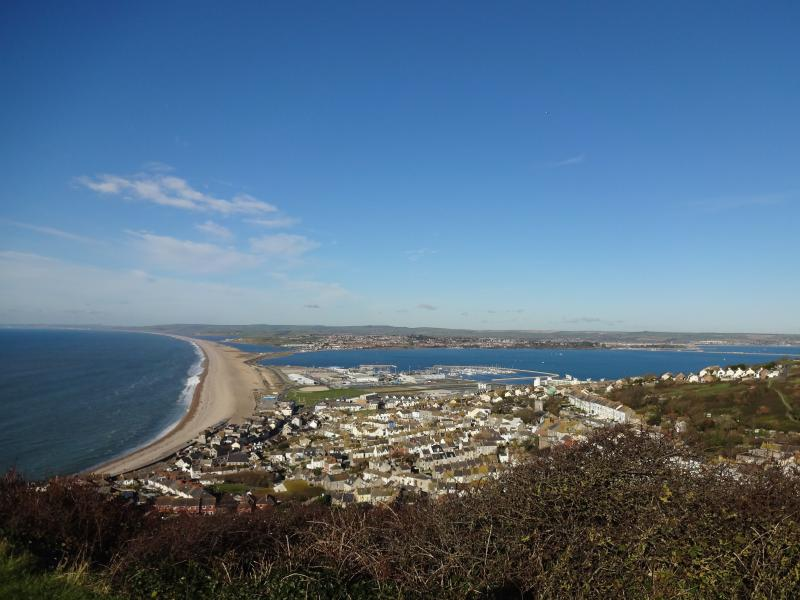 Walk to Chesil Beach (Chesil Bank) in 25 minutes