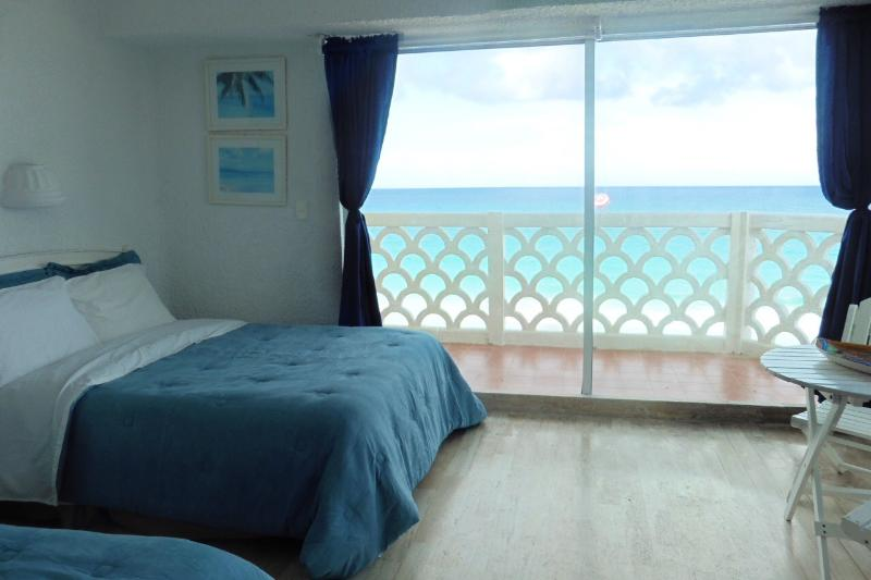Unit with large ocean view balcony