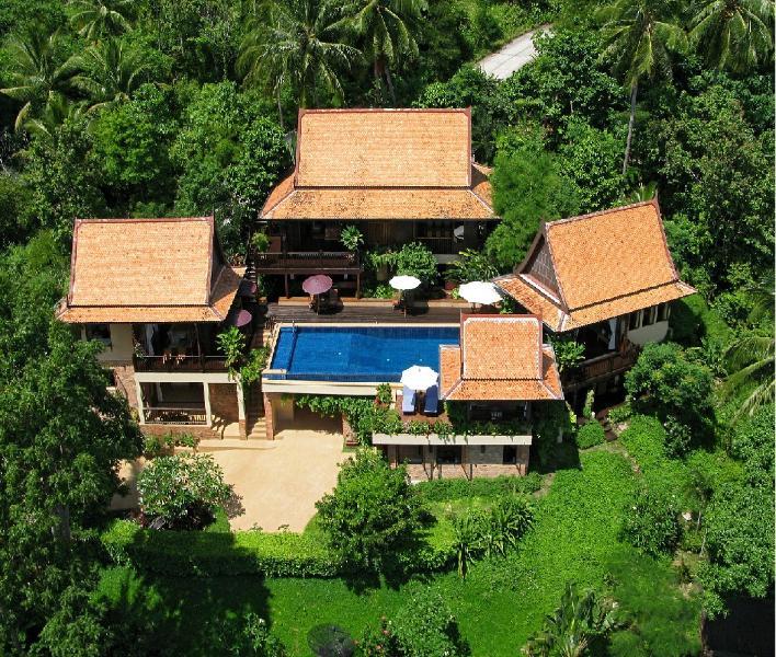 Villa Thai Teak - Ariel colpo di questa struttura a 5 camere da letto