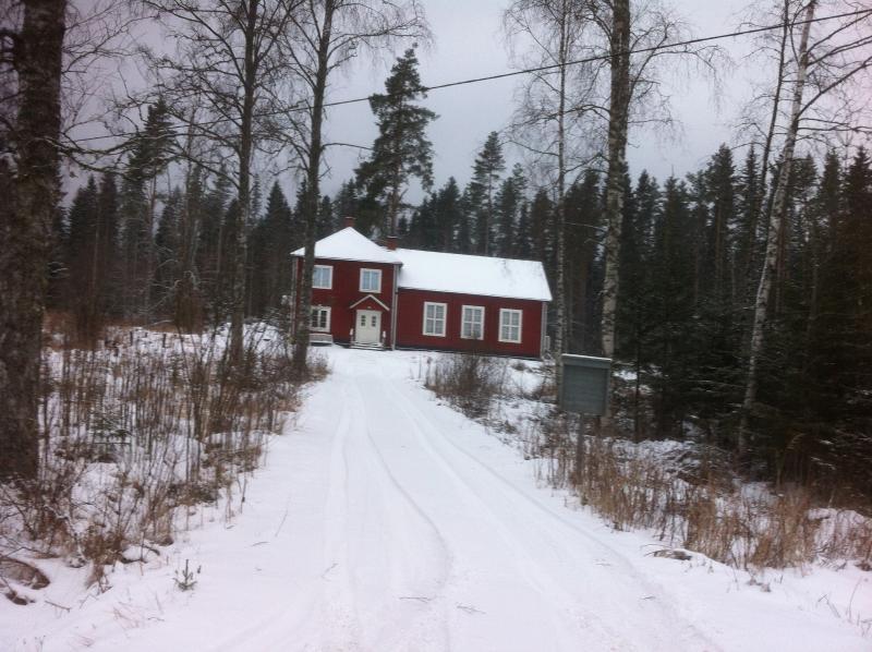Church in the North in Winter