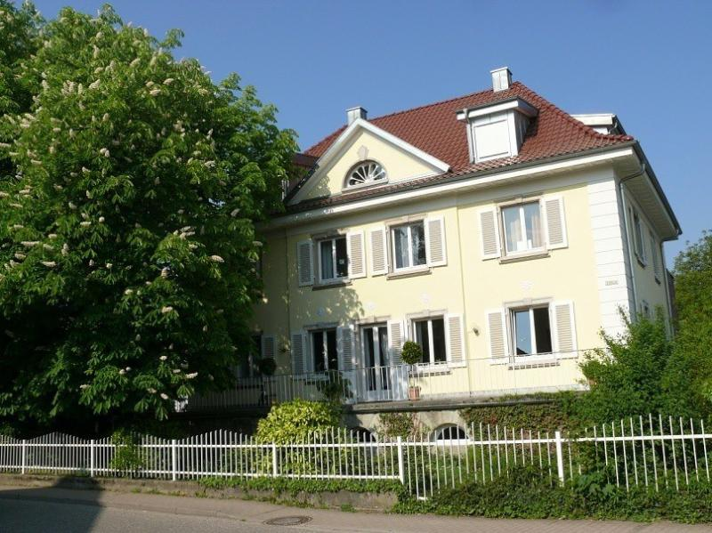 The House was built in 1920. The spacious and stylish apartment is on the top floor.