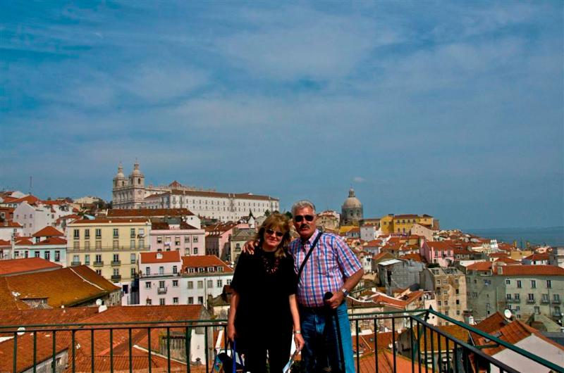 Das Ehepaar Dagmar und Wulf, Besitzer der Ferienanlage Lobo do Mar