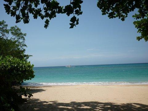 Playa de huéspedes privada