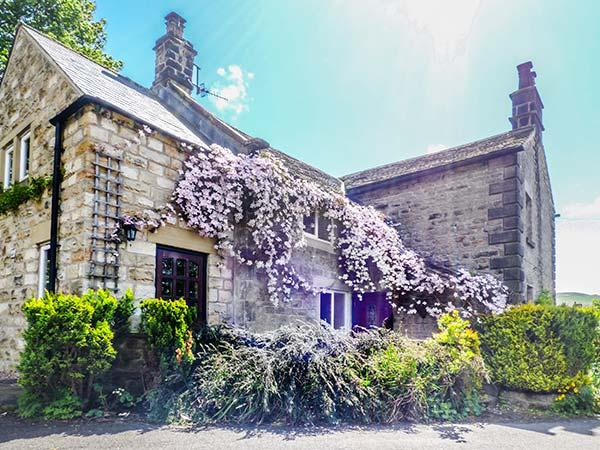 LEA COTTAGE, pet-friendly village cottage with WiFi, garden, open fire, Bamford, holiday rental in Bamford