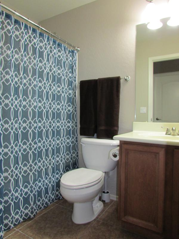 2nd Guest Bathroom w/ combo tub/shower