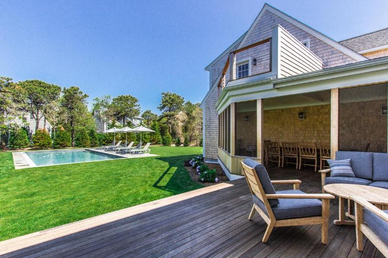 Deck, Screened Porch, Pool and Yard