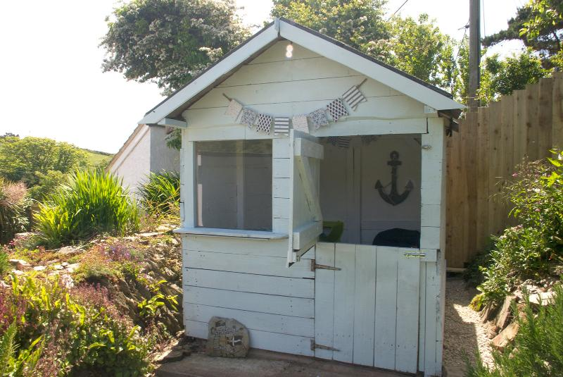 Summerhouse with games for the kids and adults