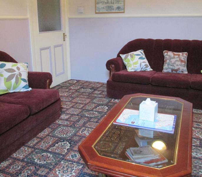 our guest lounge is very popular to relax and meet up