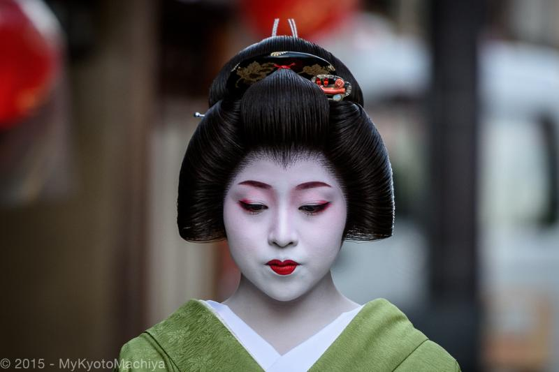 The beauty of the Geisha (called Geiko in Kyoto)