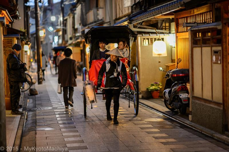 Rickshaw tour around Miyagawa-Cho