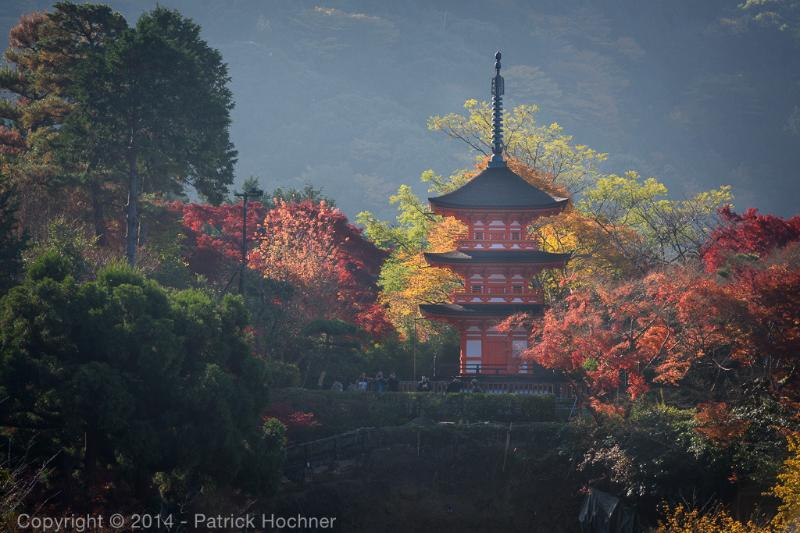 Kiyomizu-Dera Temple in Autumn