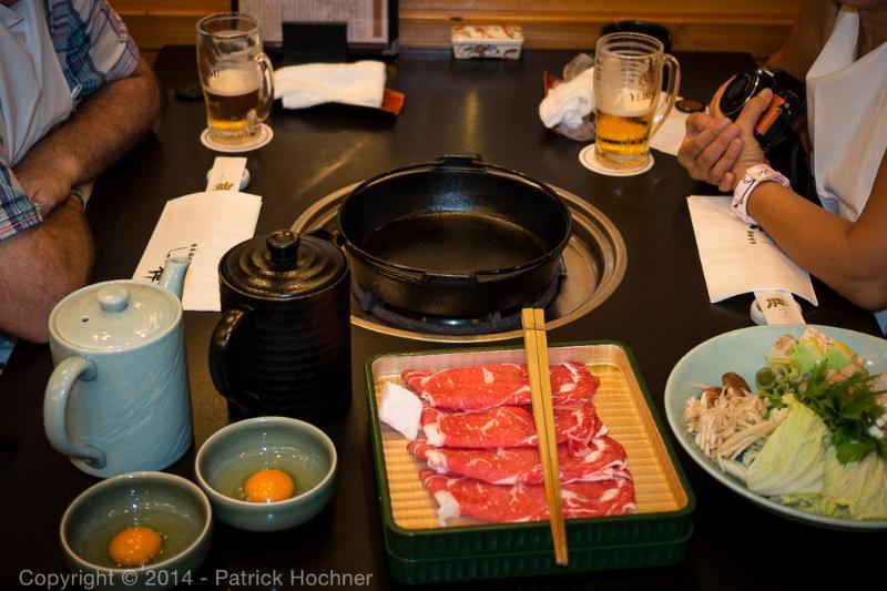 Sukiyaki, one of our favorite Japanese dish