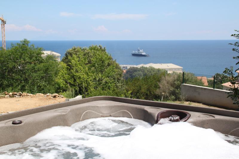 Seaview from the jacuzzi