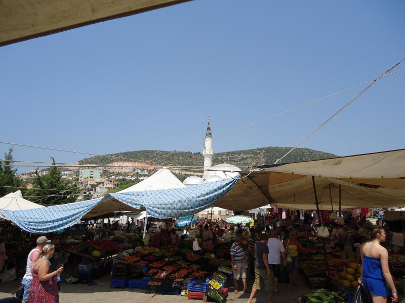 Kalkan Thursday market