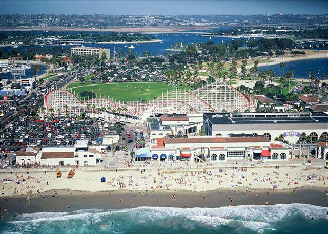 Beach and Belmont Park