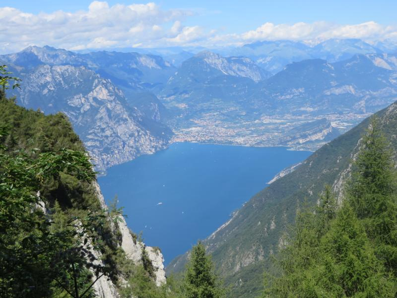 nearby spectacular view of Lake Garda