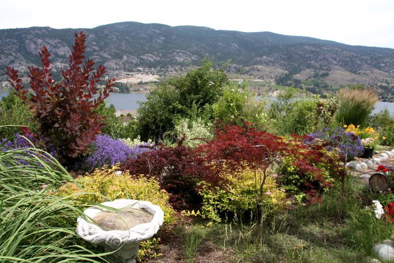 jardines con vista
