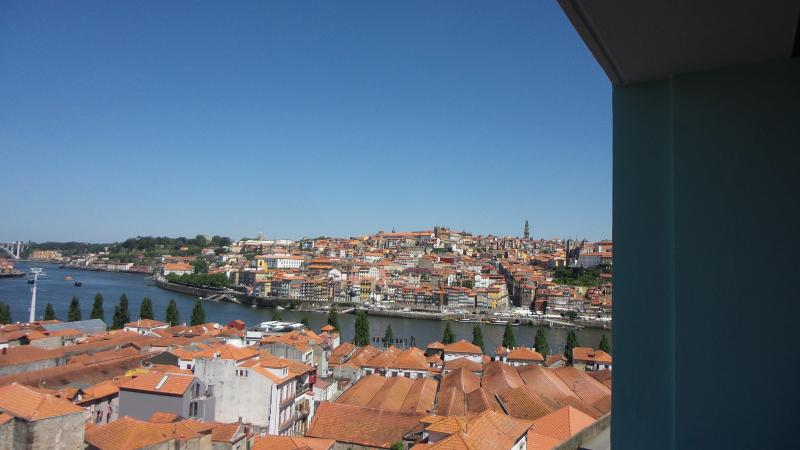 View to Porto from the balcony