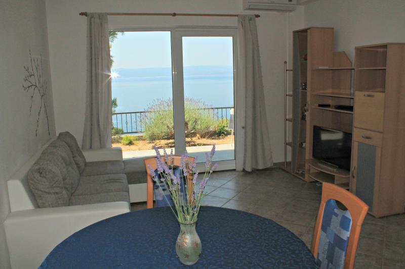 Sea view Apartment Marco Polo, alquiler vacacional en Brela
