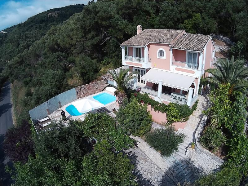 Aerial View of Villa Anastasia