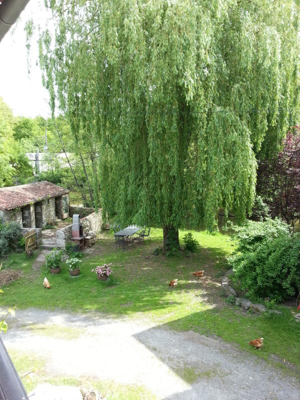 View The Willow Garden from the Granary Terrace whilst sipping a cool glass of wine