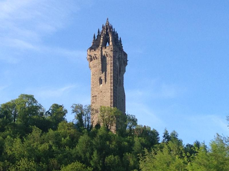 The National Wallace Monument - home of William Wallace's Claymore