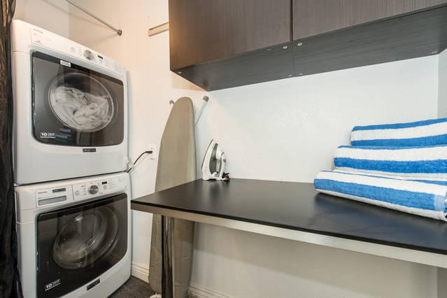 Complimentary use of Washer & Dryer