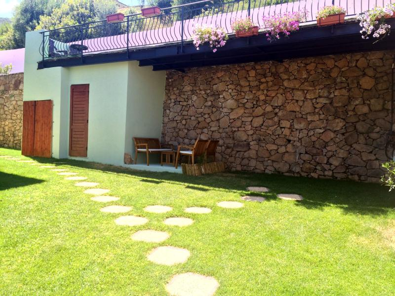 relaxation garden area