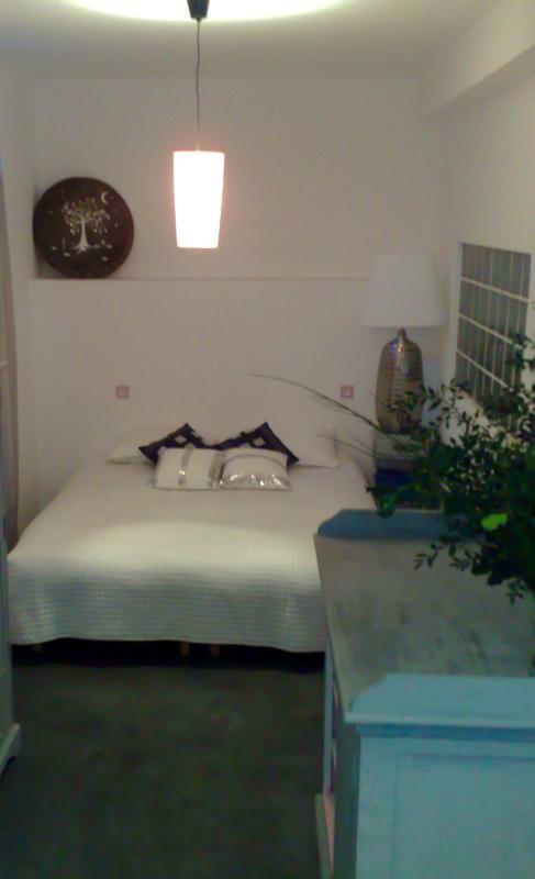 El segundo dormitorio con una mastress de látex 160cm
