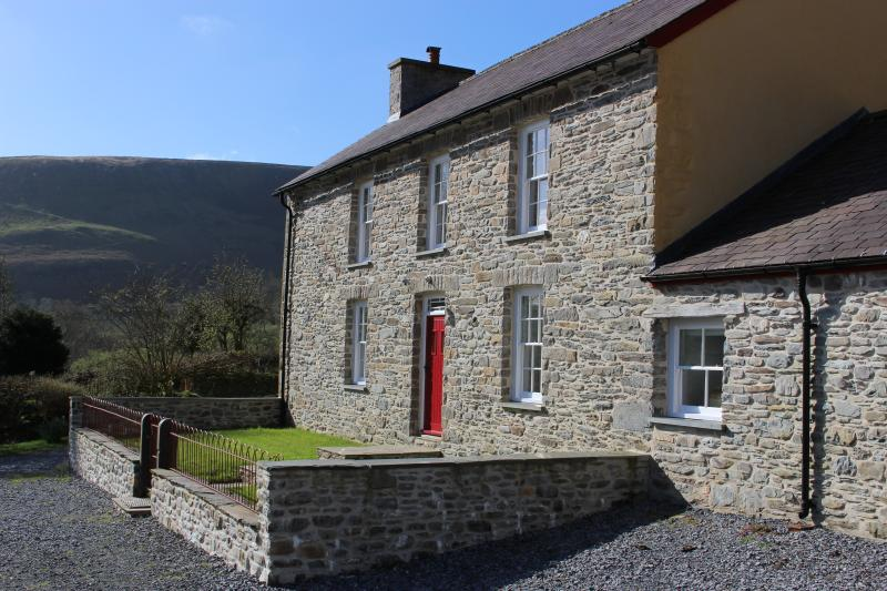 Beautiful stone farmhouse in the heart of an RSPB reserve in the wild and untamed Cambrian Mountains