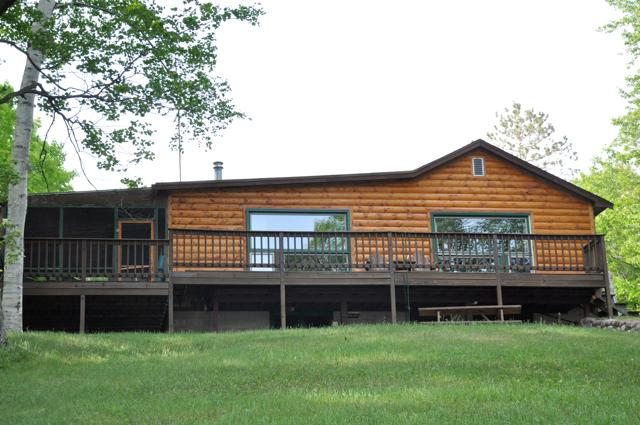 Picture Windows and Deck for Unobstructed view of Beautiful Squaw Lake