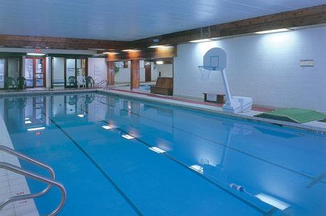 Indoor pool. The Village also has an indoor hot-tub & sauna.