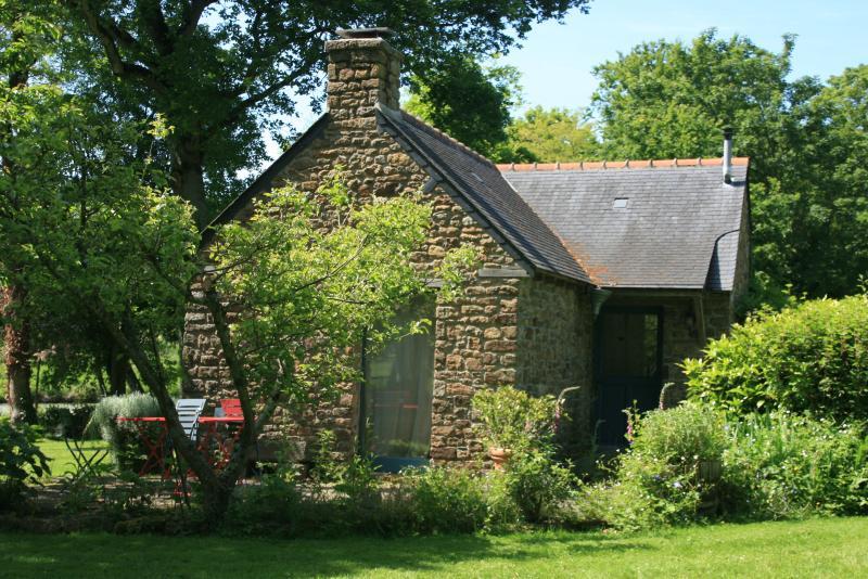 Cottage, la maison du jardinier en Bretagne.