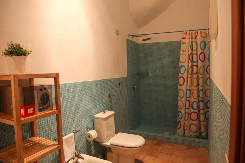bagno con box doccia molto spazioso