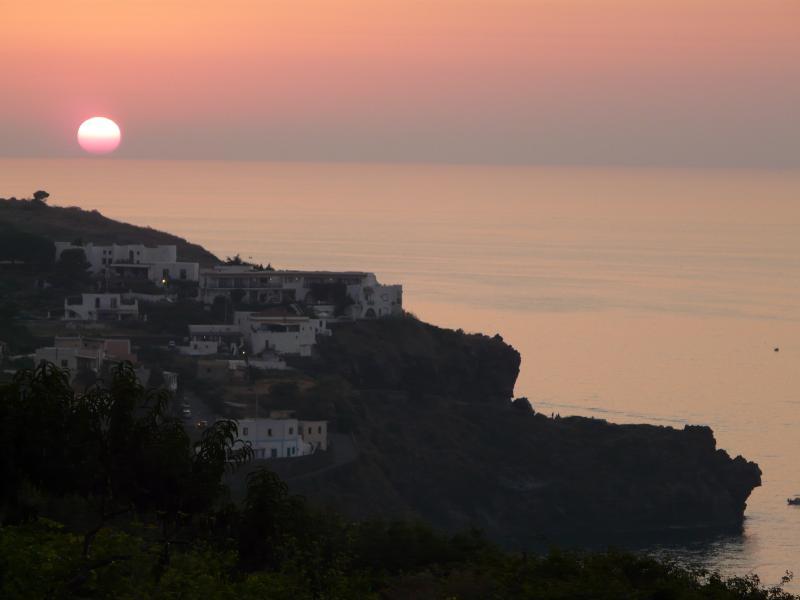 tramonto da Malfa