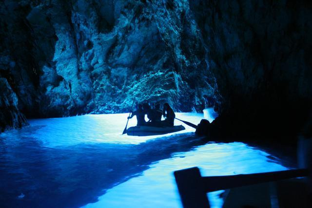 Blue cave, one of many interesting places to visit