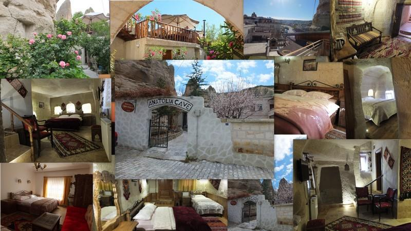 Anatolia cave hotel  fairychimney room, holiday rental in Uchisar
