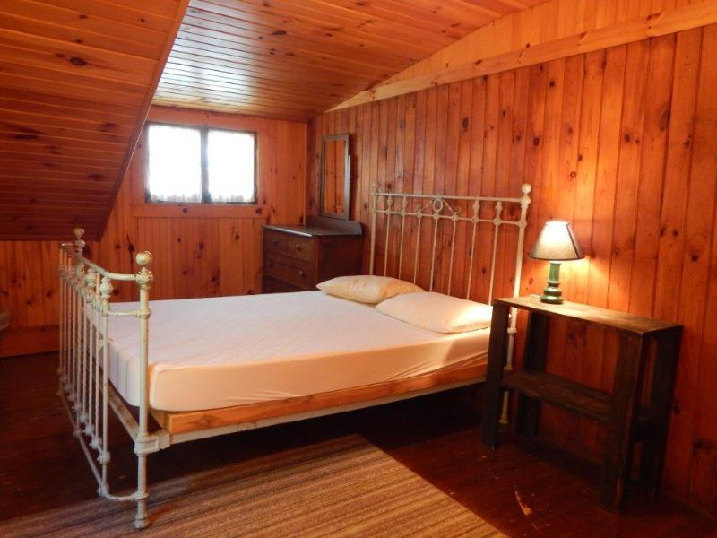 North side beddroom upstairs has double and single bed