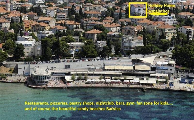 Holiday Home Aspalathos, 2 BDR Apt, Close To All Tourist Attractions, vacation rental in Split