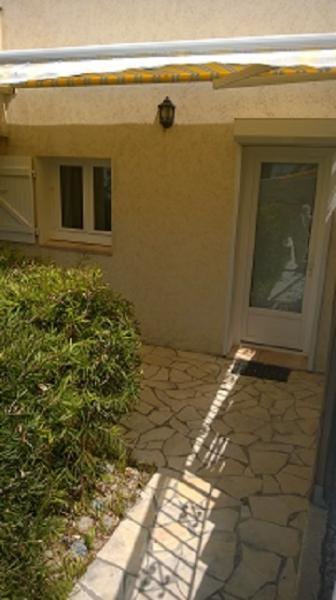 terrasse entrée du studio
