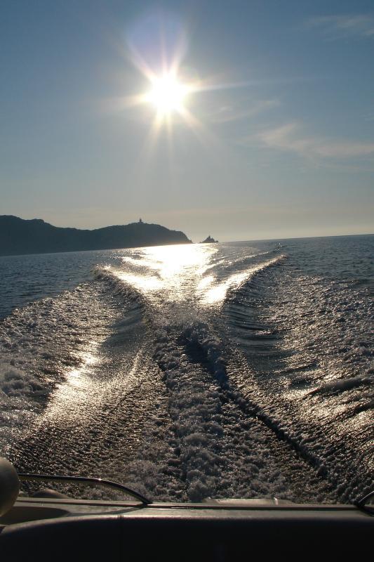 balade en mer depuis Calvi