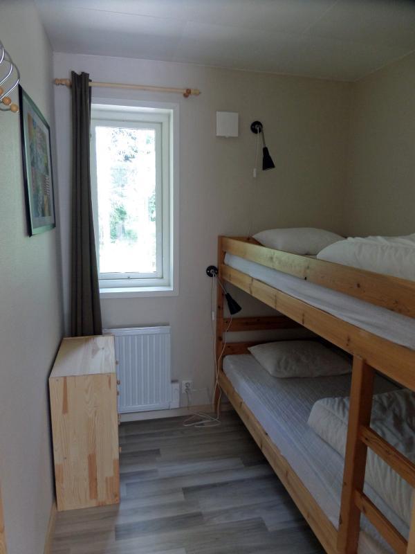 Bedroom no. 3 with bunk bed