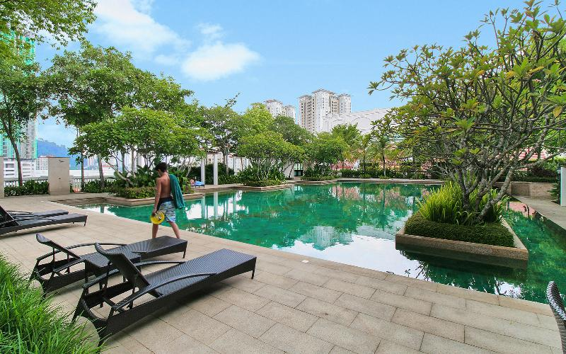 Home suites wonderful suite at marina penang updated - Summer house with swimming pool review ...