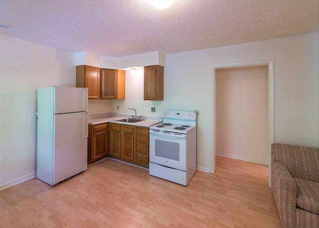 Basement Den area/ Kitchen area