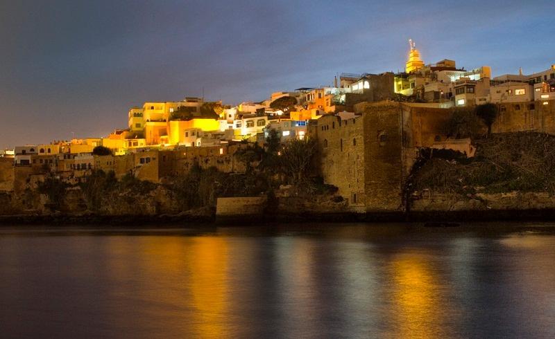 Oudaya by night