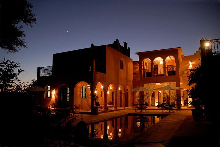 Vue générale du Riad le Jardin des Orangers
